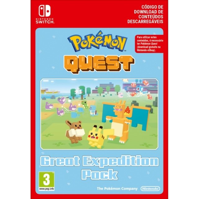 POKÉMON QUEST Great Expedition Pack (Nintendo Digital) Switch