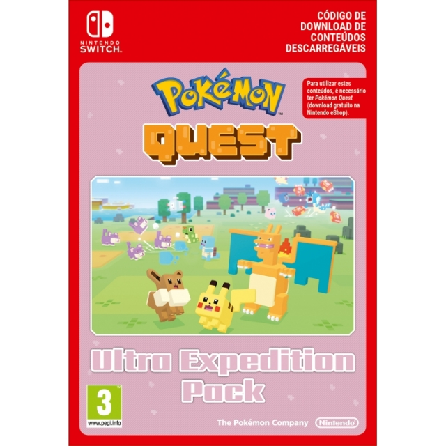 POKEMON QUEST Ultra Expedition Pack (Nintendo Digital) Switch