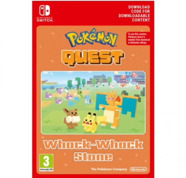 POKÉMON QUEST Whack-Whack Stone (Nintendo Digital) Switch
