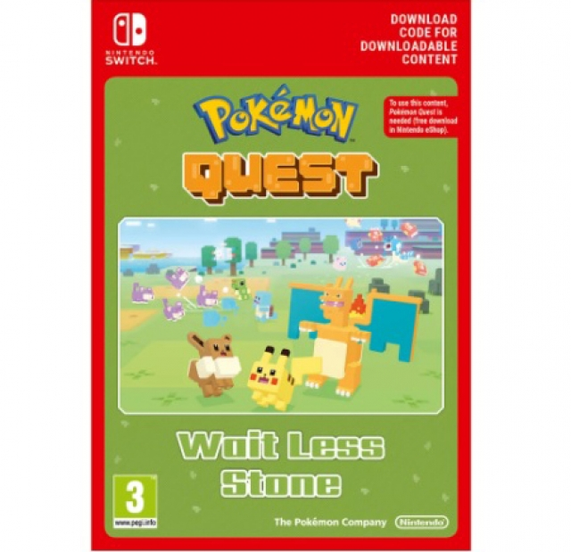 POKÉMON QUEST Wait Less Stone (Nintendo Digital) Switch