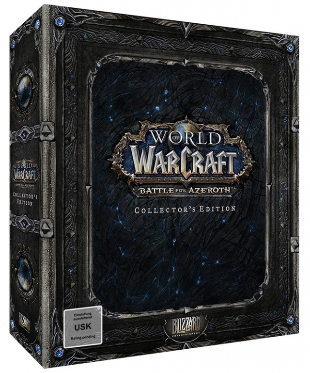 WORLD OF WARCRAFT BATTLE FOR AZEROTH (Expansão) Collectors Edition PC