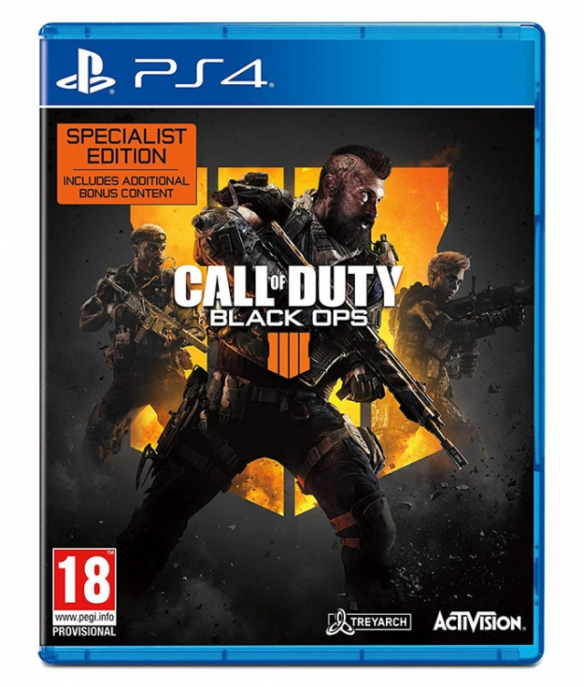 CALL OF DUTY BLACK OPS 4 Edição Especialista PS4