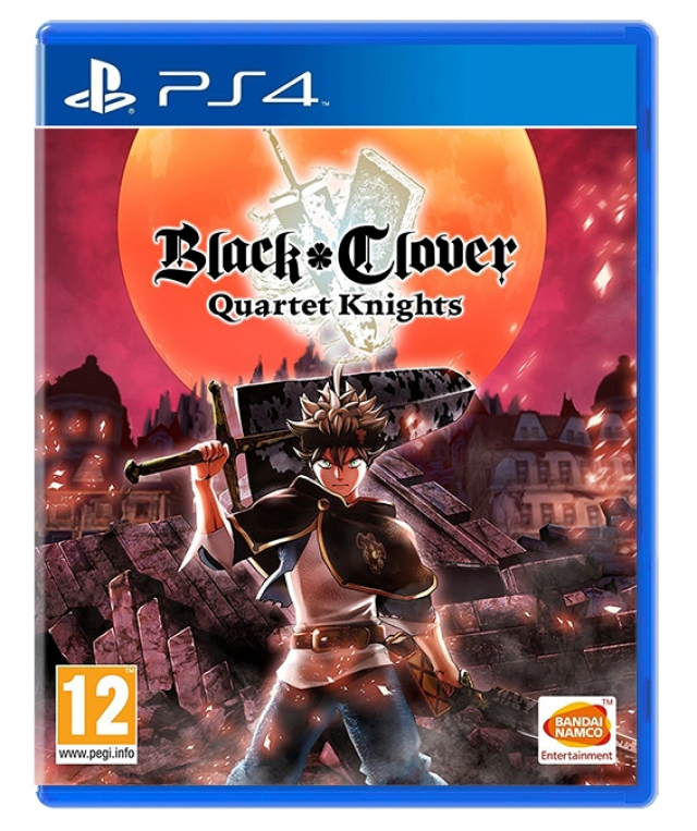 BLACK CLOVER QUARTET KNIGHTS PS4