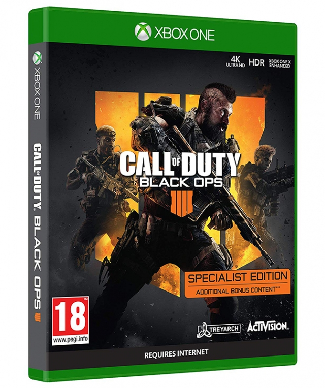 CALL OF DUTY BLACK OPS 4 Edição Especialista XBOX ONE