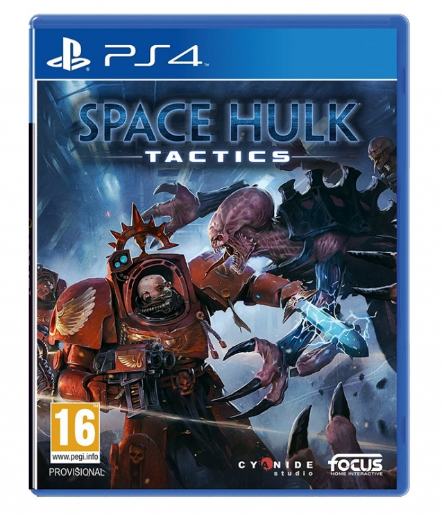 SPACE HULK TATICS PS4