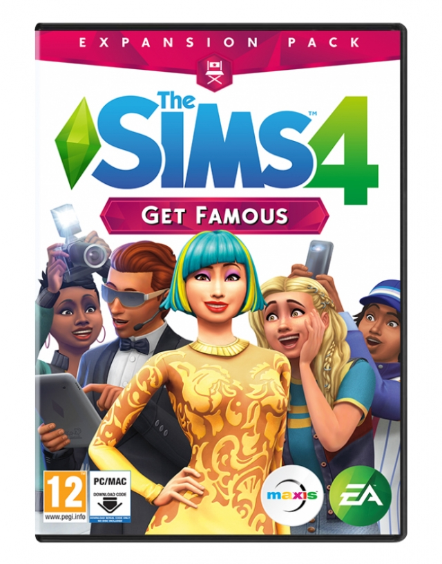 THE SIMS 4 GETS FAMOUS Expansão [Download Digital] PC