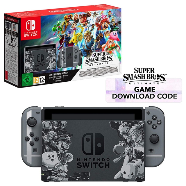 Consola NINTENDO Switch Edição Especial SUPER SMASH BROS. ULTIMATE