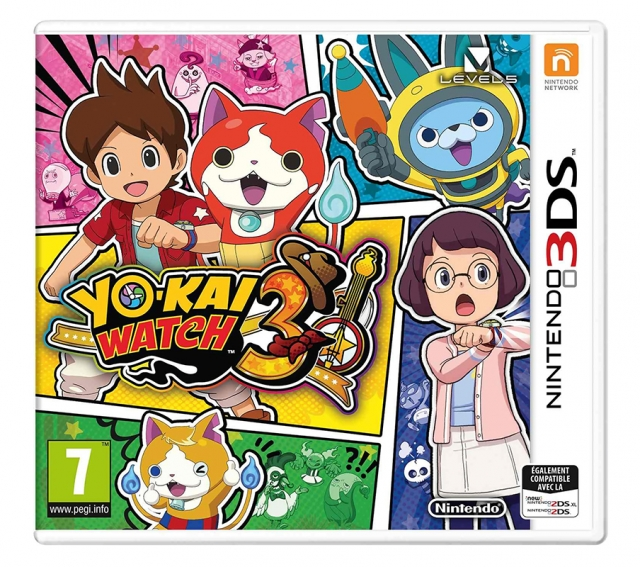 YO-KAI WATCH 3 3DS & 2DS