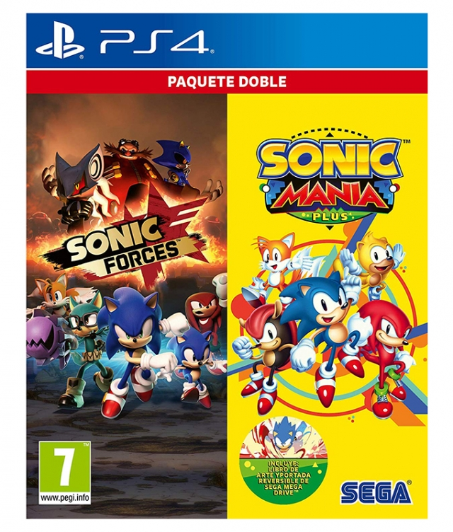 SONIC FORCES + SONIC MANIA PLUS Pack PS4