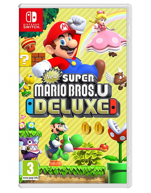 NEW SUPER MARIO BROS. U Deluxe (EM PORTUGUÊS) Switch