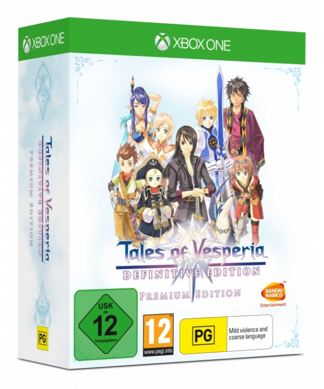TALES OF VESPERIA Definitive Premium Edition XBOX ONE