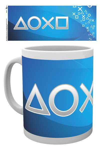 Caneca PLAYSTATION Silver Buttons