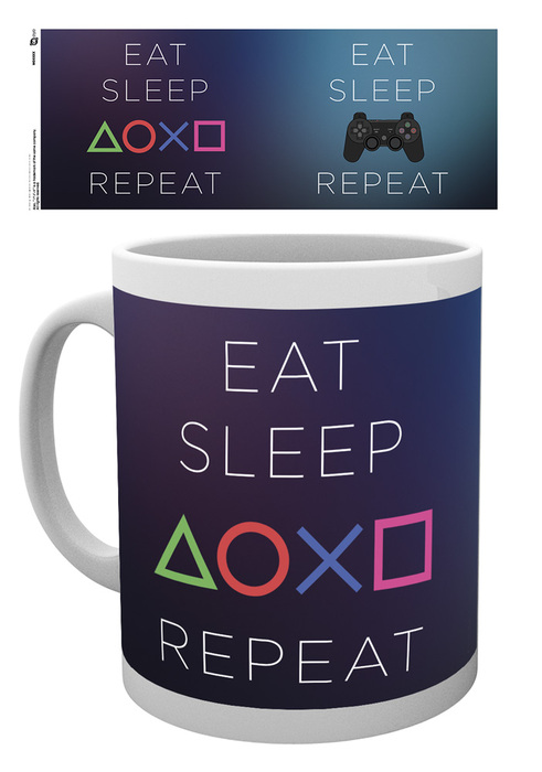 Caneca PLAYSTATION Eat Sleep Play Repeat