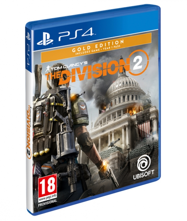 THE DIVISION 2 Gold Edition PS4