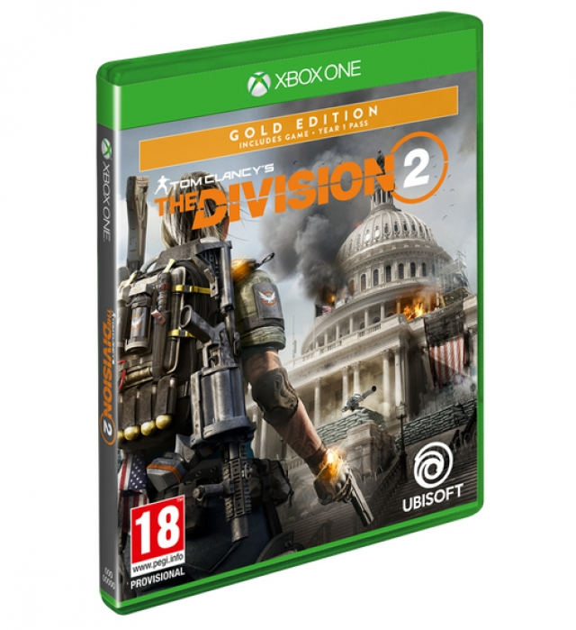THE DIVISION 2 Gold Edition XBOX ONE