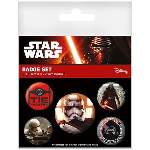 Pins STAR WARS First Order Badge Pack (5 pins)
