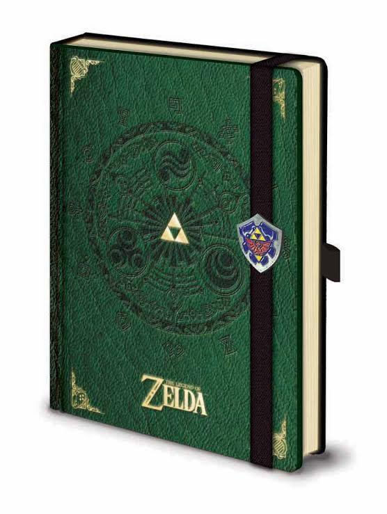 Bloco de Notas LEGEND OF ZELDA Triforce Premium