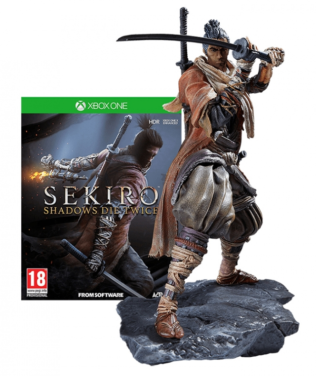 SEKIRO SHADOWS DIE TWICE Collector's Edition XBOX ONE