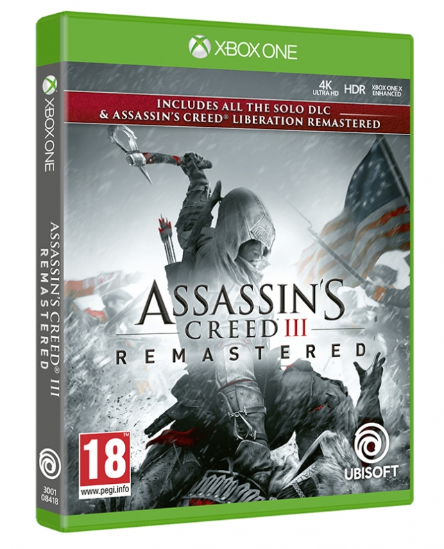 ASSASSINS CREED 3 REMASTERED XBOX ONE