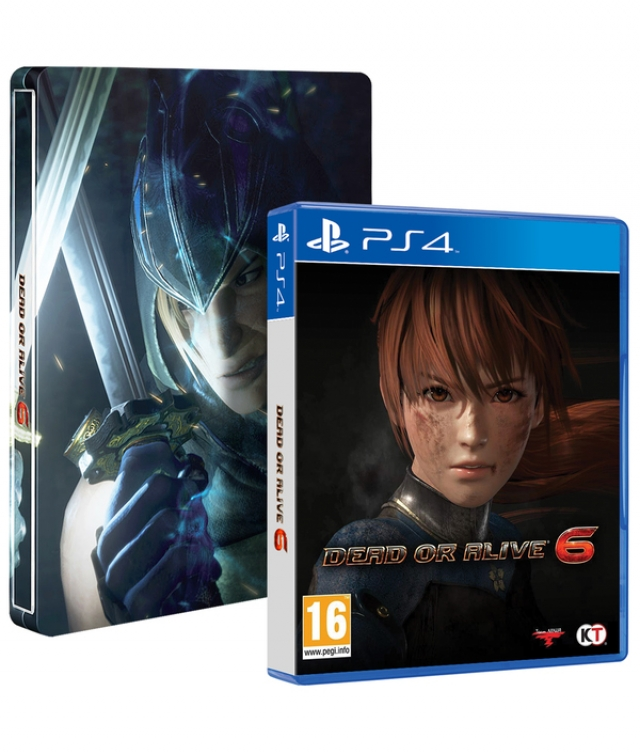 DEAD OR ALIVE 6 Steelbook Edition PS4
