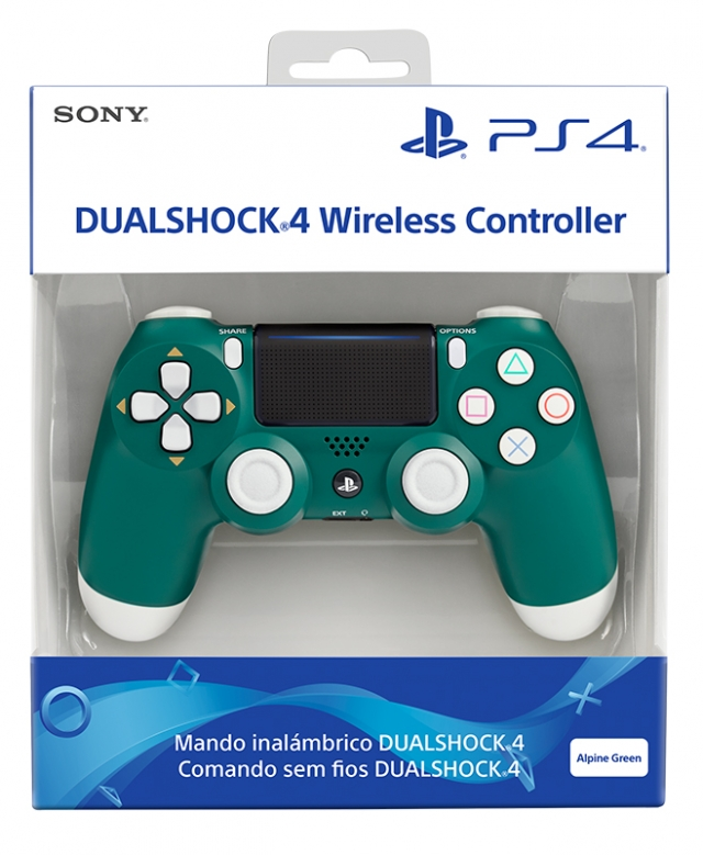 COMANDO SONY DUALSHOCK 4 V2 Alpine Green PS4
