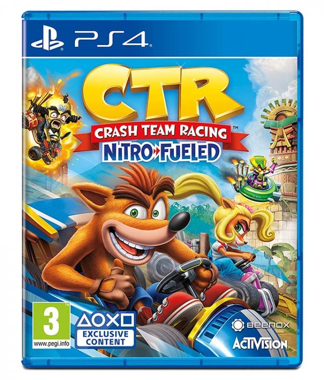 CRASH TEAM RACING NITRO FUELED PS4