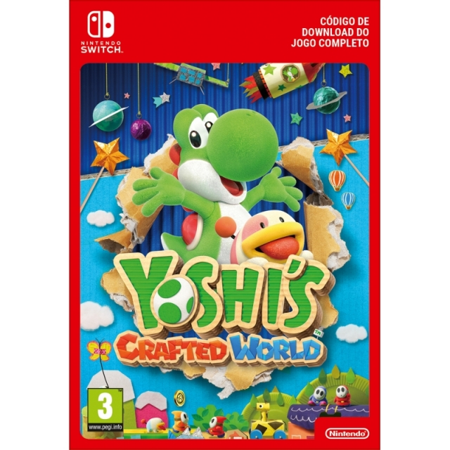 YOSHI'S CRAFTED WORLD (Nintendo Digital) Switch