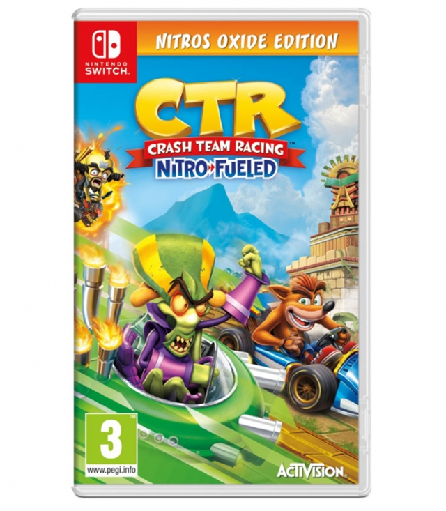 CRASH TEAM RACING Nitros Oxide Edition Switch