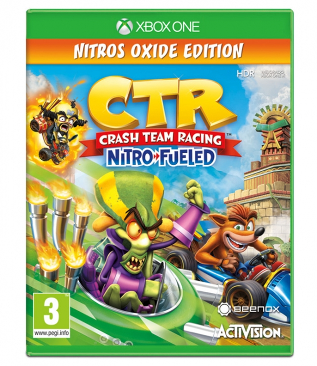 CRASH TEAM RACING Nitros Oxide Edition XBOX ONE
