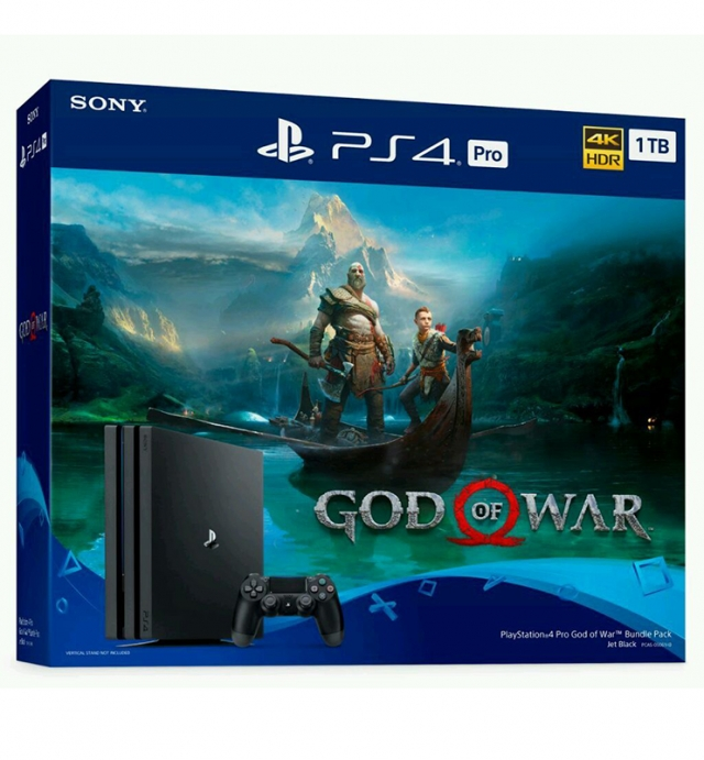 CONSOLA PS4 PRO 1TB Bundle GOD OF WAR