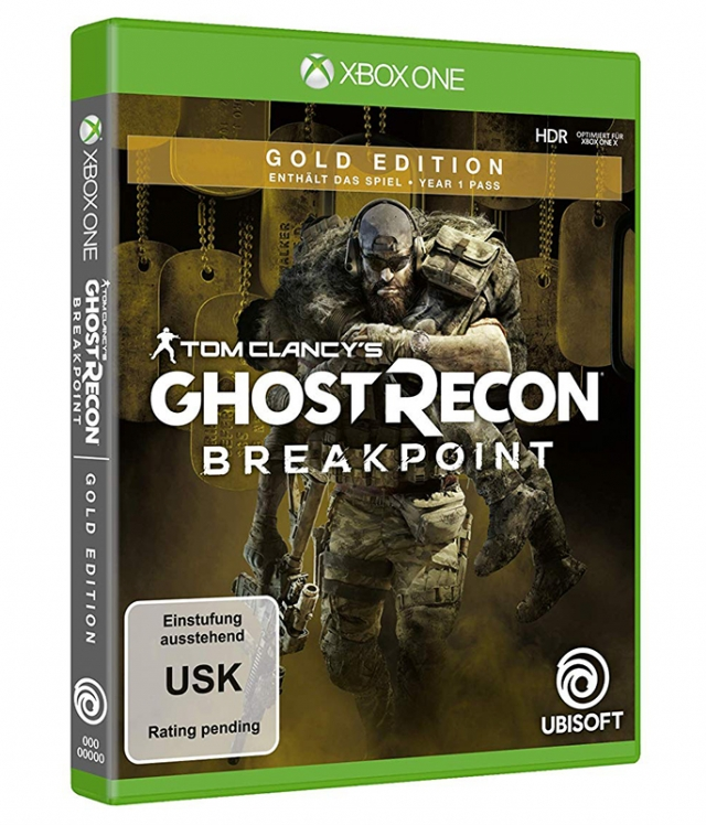 GHOST RECON BREAKPOINT Gold Edition (EM PORTUGUÊS) XBOX ONE