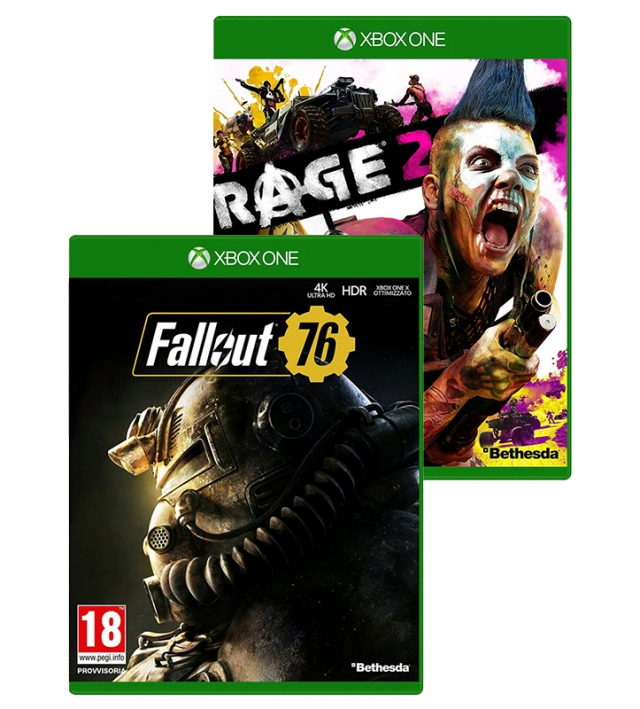 RAGE 2 + FALLOUT 76 XBOX ONE