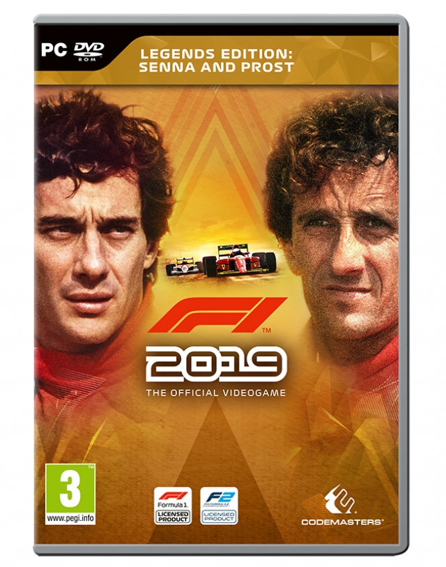 F1 2019 Legends  Edition (Download Digital) PC