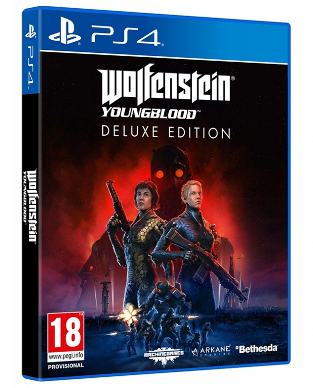 WOLFENSTEIN YOUNGBLOOD Deluxe Edition (Oferta Steelbook) PS4