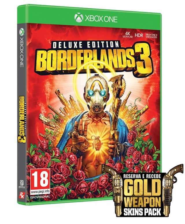 BORDERLANDS 3 Deluxe Edition (EM PORTUGUÊS) Oferta DLC XBOX ONE