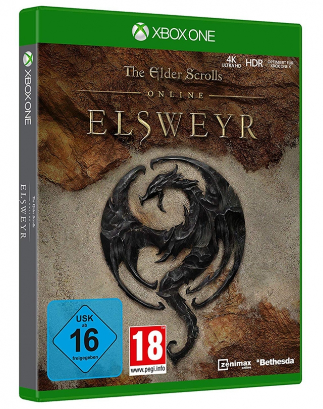 THE ELDER SCROLLS ONLINE ELSWEYR XBOX ONE