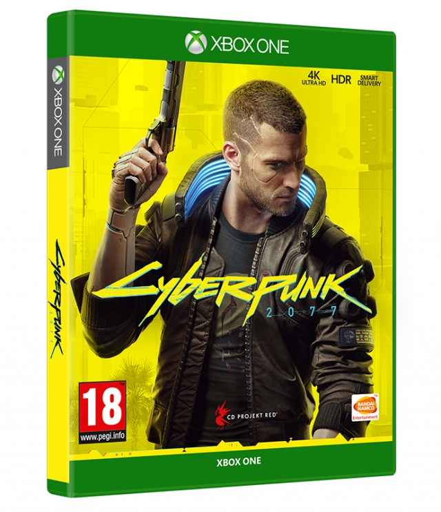 CYBERPUNK 2077 Day One Edition (Oferta Porta-Chaves) XBOX ONE