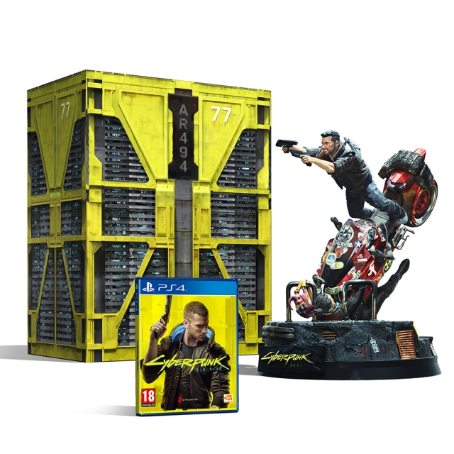 CYBERPUNK 2077 Collectors Edition (Oferta Porta-Chaves) PS4