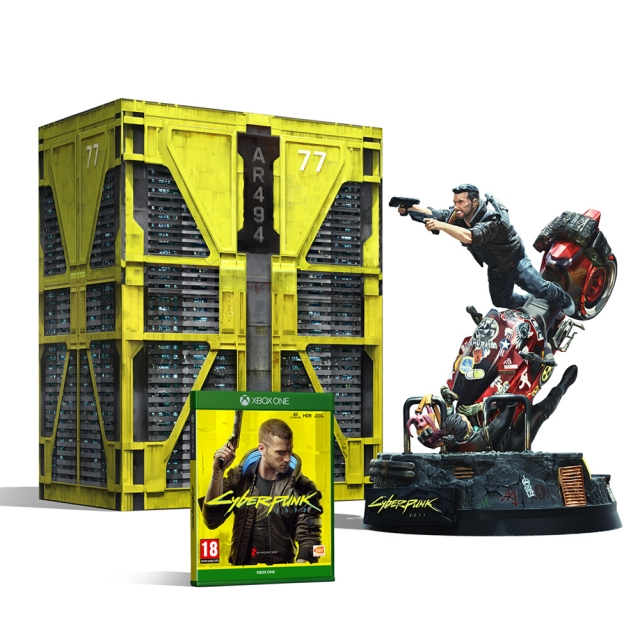 CYBERPUNK 2077 Collectors Edition (Oferta Porta-Chaves) XBOX ONE
