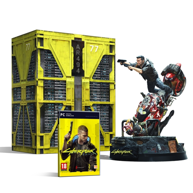 CYBERPUNK 2077 Collectors Edition (Oferta Porta-Chaves) PC