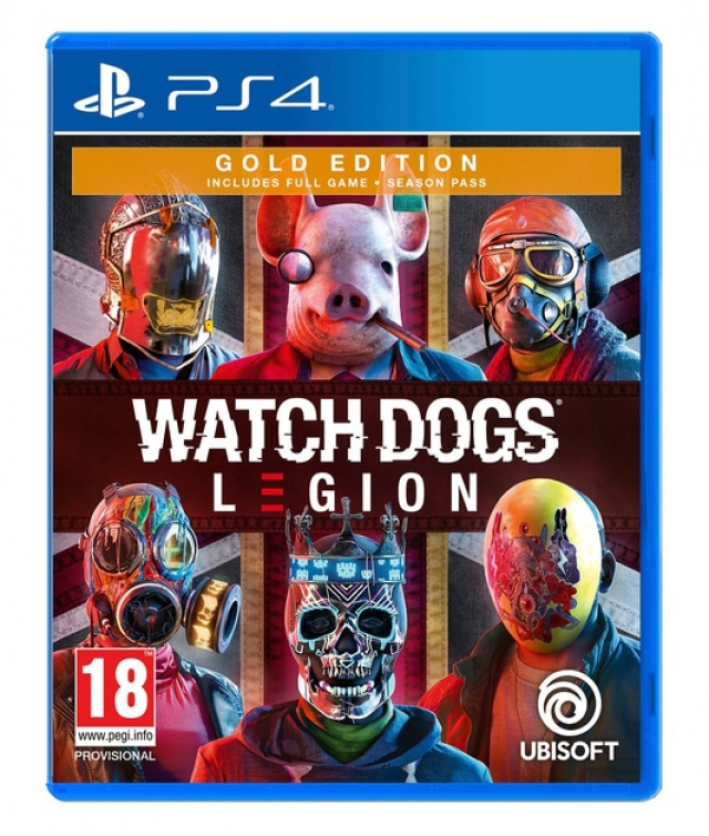 WATCH DOGS LEGION Gold Edition (Oferta DLC) PS4/PS5