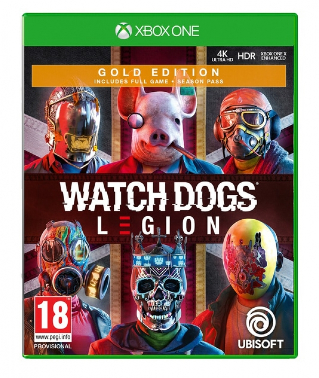 WATCH DOGS LEGION Gold Edition (EM PORTUGUÊS) Oferta DLC XBOX ONE