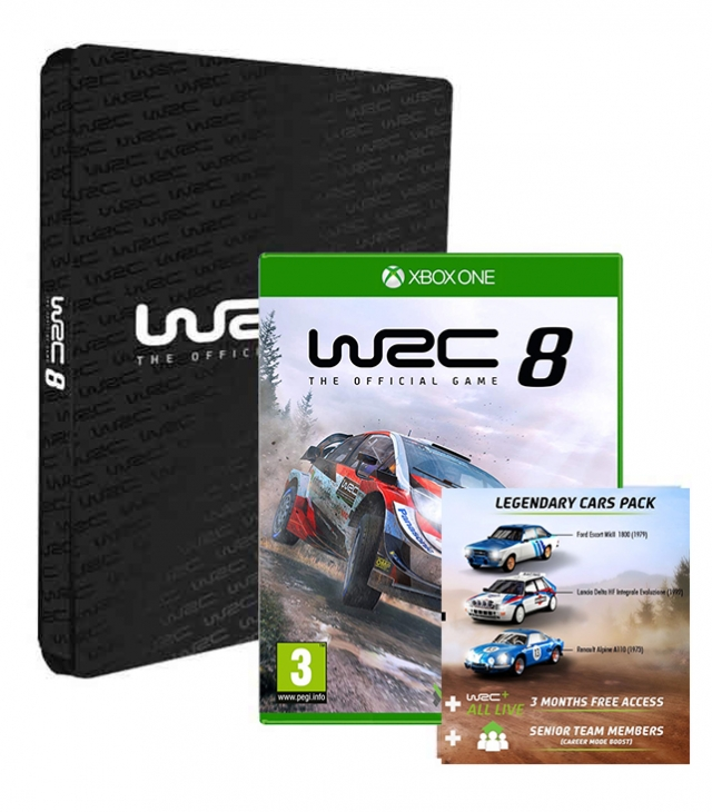 WRC 8 Collectors Edition (EM PORTUGUÊS) XBOX ONE
