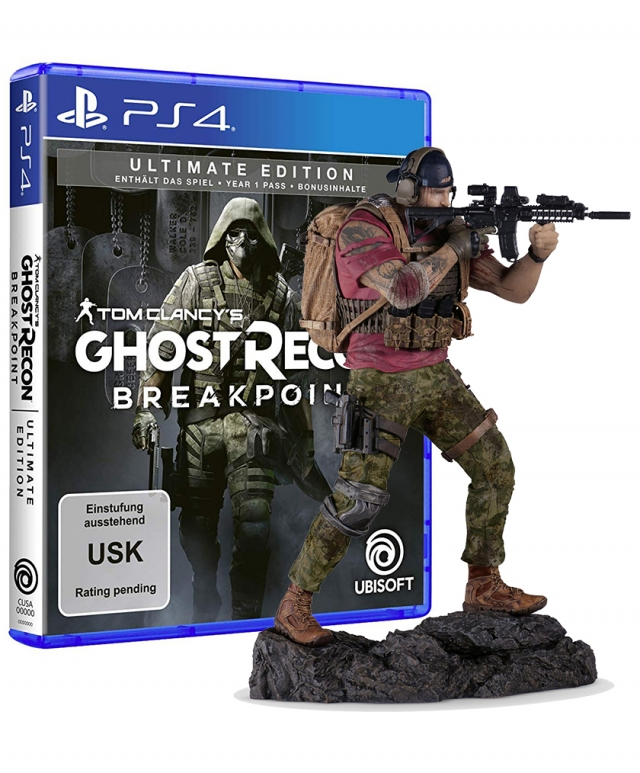 GHOST RECON BREAKPOINT Collectors Edition PS4