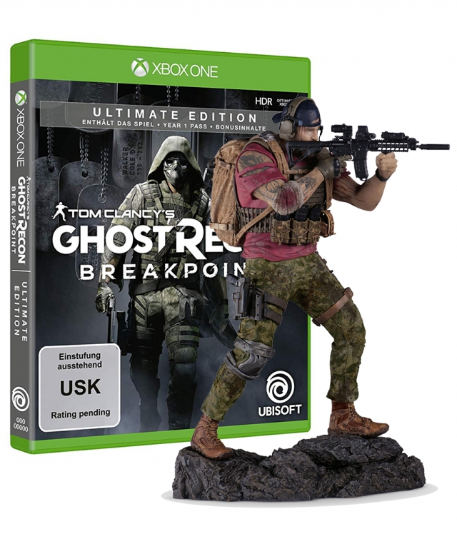 GHOST RECON BREAKPOINT Collectors Edition XBOX ONE