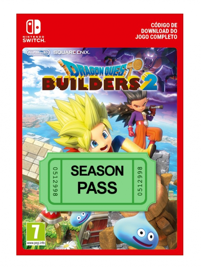 DRAGON QUEST BUILDERS 2 Season Pass (Nintendo Digital) Switch