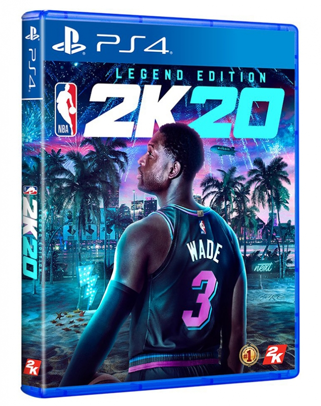 NBA 2K20 Legend Edition (Oferta Steelbook) PS4