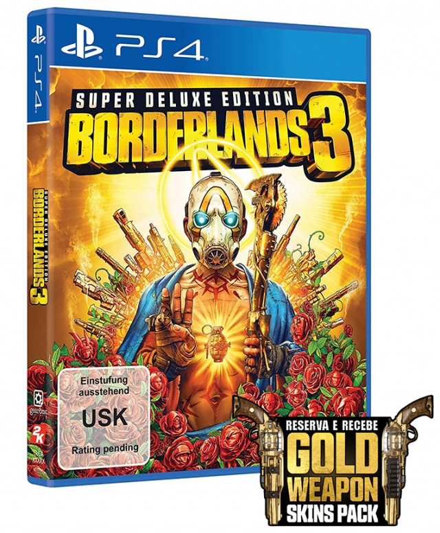 BORDERLANDS 3 Super Deluxe Edition (Oferta DLC) PS4