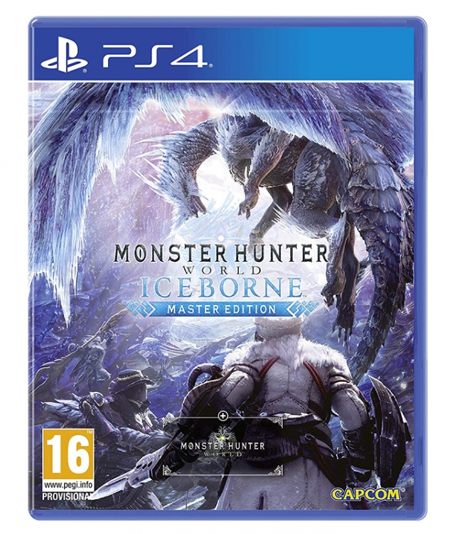 MONSTER HUNTER WORLD ICEBORN Master Edition PS4