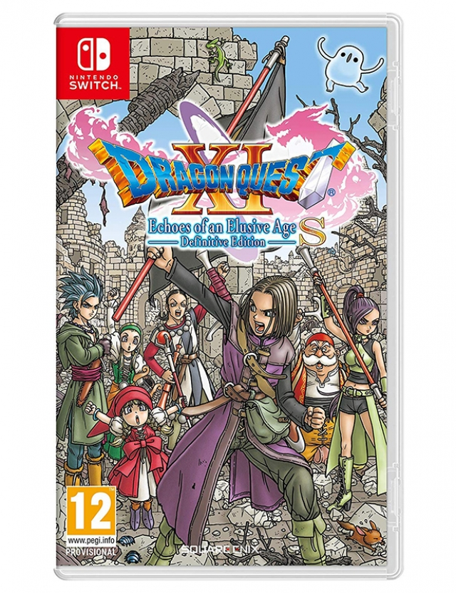 DRAGON QUEST XI ECHOES OF AN ELUSIVE AGE Definitive Edition Switch